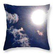 Pure Sunlight Throw Pillow