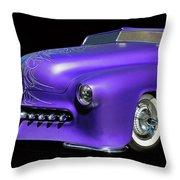 Purple Customized Throw Pillow