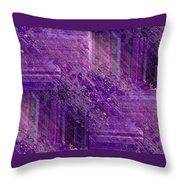 Purple Mystique Throw Pillow