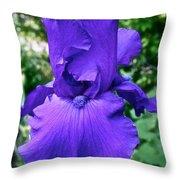 Purple Overload Throw Pillow