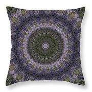 Purple Pleasure Abstract Throw Pillow