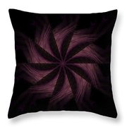 Purple Power Throw Pillow