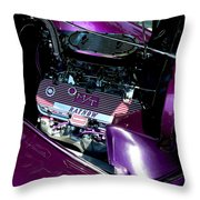 Purple Ratnow Throw Pillow
