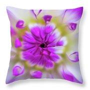 Purple Splendor Throw Pillow