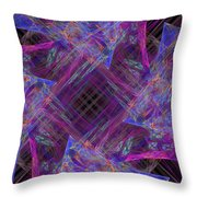 Purples II Throw Pillow