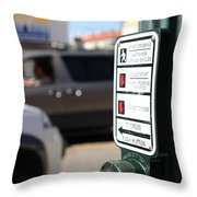 Push Button Throw Pillow