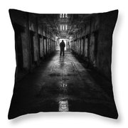 Put My Name On The Walk Of Shame Throw Pillow by Evelina Kremsdorf