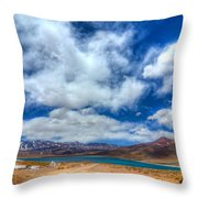Putting Things Into Perspective Throw Pillow