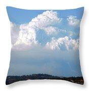 Pyrocumulus Cloud  Throw Pillow