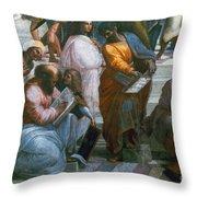 Pythagoras (569-475 B.c.) Throw Pillow