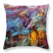 Quadra-04 Throw Pillow