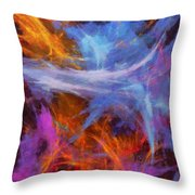 Quadra-06 Throw Pillow