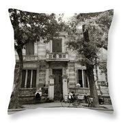 Quaint Hanoi Throw Pillow