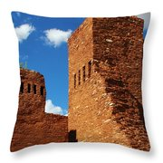 Quarai Salinas Pueblo Missions National Monument Throw Pillow
