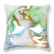 Quasars Throw Pillow