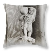 Quasimodo Throw Pillow