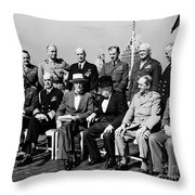 Quebec Conference, 1944 Throw Pillow