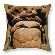 Queen Of Stone Throw Pillow