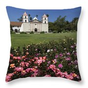Queen Of The Missions Throw Pillow