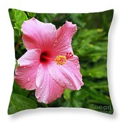 Queen Of The Tropics Throw Pillow