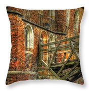 Queens' College And Mathematical Bridge Throw Pillow