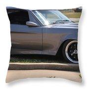 Quick Silver Throw Pillow
