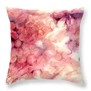 Quiet Places Throw Pillow by Rachel Christine Nowicki
