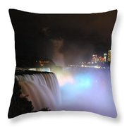 Quiet Thunder Nf Throw Pillow