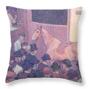 Quiet With All Road Nuisances Throw Pillow