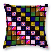 Quilt 1 Throw Pillow