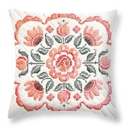 Quilted Centerpiece Throw Pillow