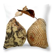 Quinces Throw Pillow