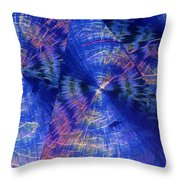 Quinic Acid Throw Pillow