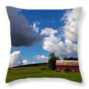 Quintessential Vermont Throw Pillow