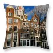 Raamgracht 19. Amsterdam Throw Pillow
