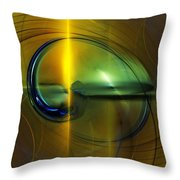 Race To Obsolescence  Throw Pillow