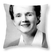 Rachel Carson (1907-1964) Throw Pillow by Granger