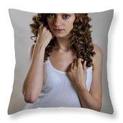 Rachel5 Throw Pillow