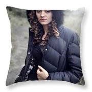 Rachel8 Throw Pillow