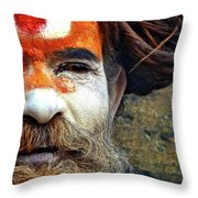 Rade Baba Throw Pillow