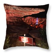 Radiator Racers - Cars Land - Disneyland Throw Pillow