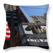 Radio City Music Hall 2 Throw Pillow