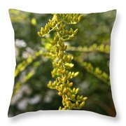 Rag Weed Tendril Throw Pillow