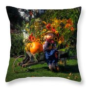 Raggedy Andy Square Throw Pillow