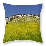 Ragweed Bluffs Throw Pillow