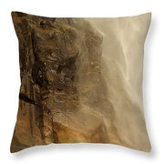 Rainbow On The Rocks Throw Pillow