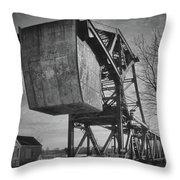 Railroad Bridge 10615b Throw Pillow