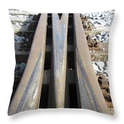 Railroad Series 05 Throw Pillow