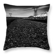 Rails Throw Pillow