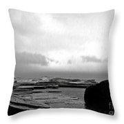 Rain And Storm Throw Pillow